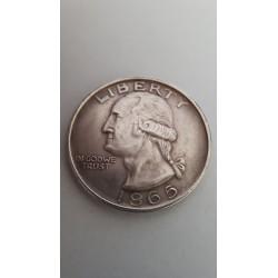 Dollar munt Liberty 1865 Reproductie
