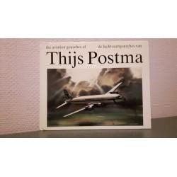 De luchtvaartgouaches van Thijs Postma - The aviation gouaches of Thijs Postma