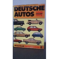 Deutsche autos 1945-1975 - Eine typegechichte