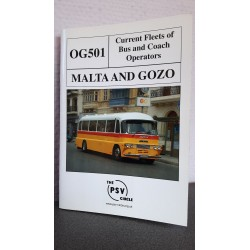 Malta and gozo - Current fleets of bus and coach operators OG 501