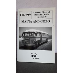 Malta and gozo - Current fleets of bus and coach operators OG 299