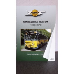 NBM Nationaal bus museum Informatie bulletin 2012