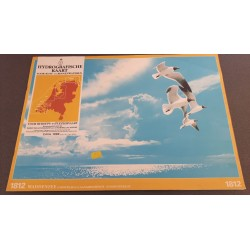 Hydrografische kaart voor kust- en binnenwateren. Editie 1988 Nr. 1812