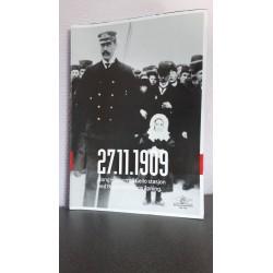 27.11.1909 Kong Haakon på Geilo stasjon ved bergensbanens Åpning