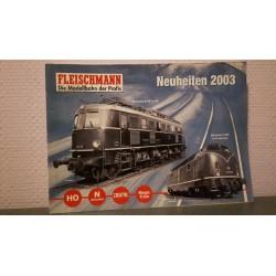 Fleischmann - Katalog Neuheiten 2003