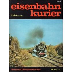 Eisenbahn Kurier Diverse jaartallen en/of nummers Vanaf 1980 t/m 1997