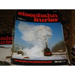 Eisenbahn Kurier Complete jaartal 1979 12 nummers