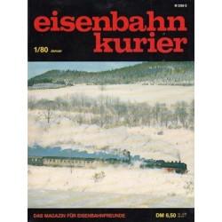 Eisenbahn Kurier Complete jaartal 1980 12 nummers