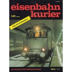 Eisenbahn Kurier Complete jaartal 1981 12 nummers