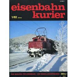 Eisenbahn Kurier Complete jaartal 1982 12 nummers