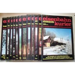 Eisenbahn Kurier Complete jaartal 1983 12 nummers