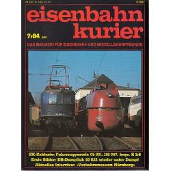 Eisenbahn Kurier Complete jaartal 1984 12 nummers