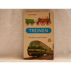 Treinen - Spoorwegen van stoom tot stroom