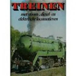 Treinen met stoom-, diesel- en elektrische locomotieven