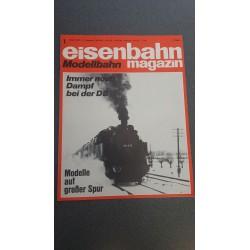 Eisenbahn magazin Modelbahn 1975 Losse nummers