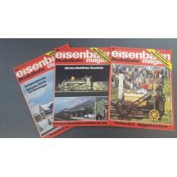 Eisenbahn magazin Modelbahn 1980 Losse nummers
