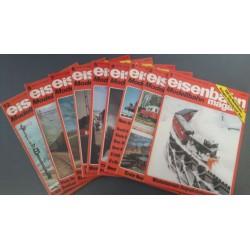 Eisenbahn magazin Modelbahn 1981 Losse nummers
