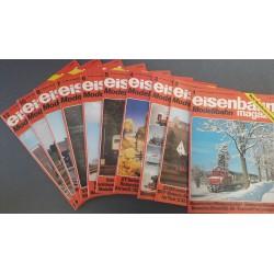 Eisenbahn magazin Modelbahn 1985 Losse nummers