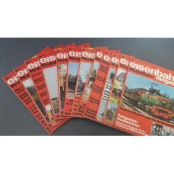 Eisenbahn magazin Modelbahn 1979 Compleet jaargang 12 Nummers