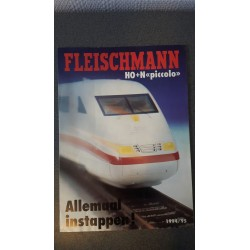 Fleischmann - Folder 1994-95 Allemaal instappen H0+N Piccolo