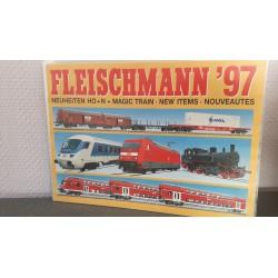 Fleischmann - Katalog Neuheiten 1997
