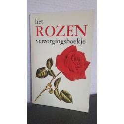 Het rozen verzorgingsboekje
