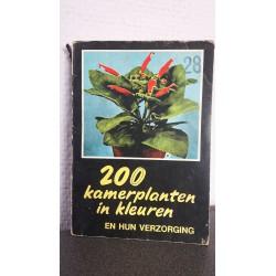 200 Kamerplanten in kleuren en hun verzorging