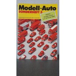 Model-Auto Sonderheft 3 - Herpa Modell-Auto's von 1978 bis 1986