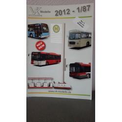VK Modelle 2012-1/87 Autobussen