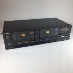 Technics RS-T20 Zwart Dubbel cassette deck