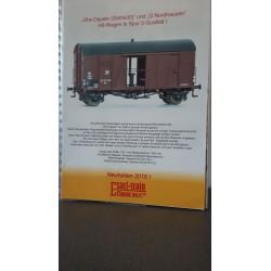 Exact-Train Neuheiten 2015
