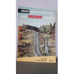 Vollmer 1000 Möglichkeiten mit Vollmer-teilen 2/1961