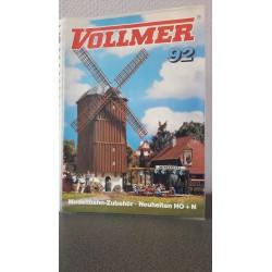 Vollmer Modelbahn-Zubehör . Neuheiten H0+N 1992