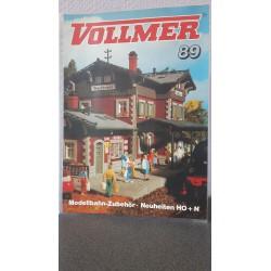Vollmer Modelbahn-Zubehör . Neuheiten H0+N 1989