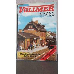 Vollmer Modelbahn-Zubehör . Neuheiten H0+N+Z 87/88