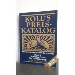 Koll's Preis katalog Liebhaber preise für Loks, Wagen, Zubehör Märklin 00/H0