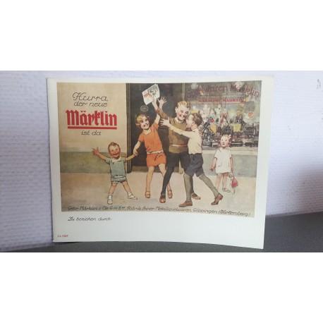 Märklin katalog 1927 t/m 1938/39 reprint