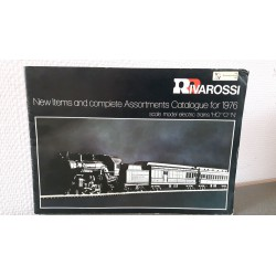 Rivarossi - New items and complete Assortments Catalogue for 1976