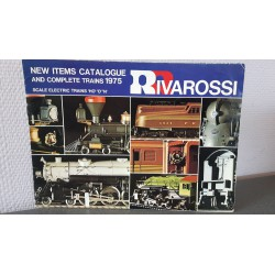 Rivarossi - New items Catalogue and complete trains 1975