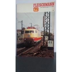 Fleischmann - Catalogus 1971