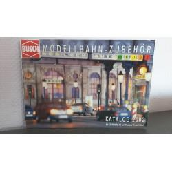 Busch Modelbahn - Zubehör Katalog 2002