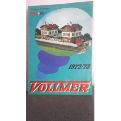 Vollmer catalogus H0 + N 1972/73