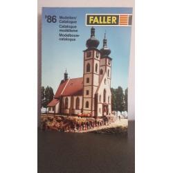 Faller Catalogus '86