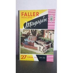 Faller Modellbau magazin 1962