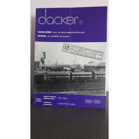 Dacker's Handleiding voor de spoorwegmodelbouwer