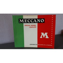Meccano Special model leaflets
