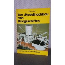 Der Modellnachbau von Kriegsschiffen