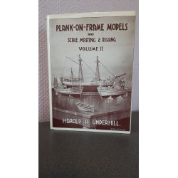 Plank on frame ship models and Scale masting & rigging