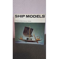 Ship Models - From earliest times to 1700 AD