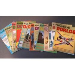 "Maandblad ""Oorlog"" Compleet jaargang 1980"